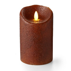 Luminara® Flameless Candle - Yam Country Pillar - 5 in