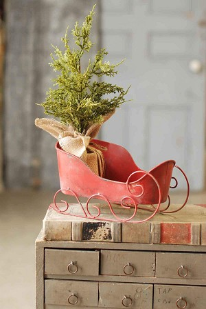 Simple Sleigh | Red | 12""