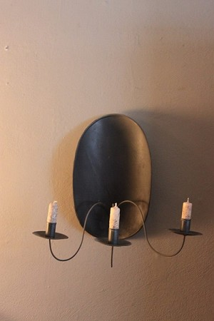 Turtleback Sconce