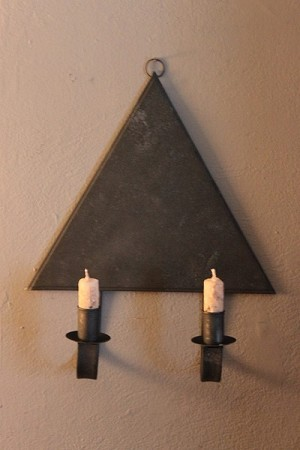 Triangle Sconce
