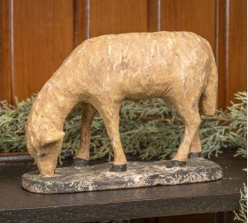 GRAZING SHEEP FIGURINE