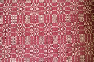 BAYBERRY WEAVE CRANBERRY/TAN LONG RUNNER