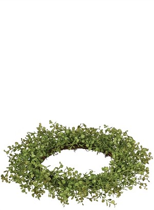 "6.5"" BABY GRASS CANDLE RING"