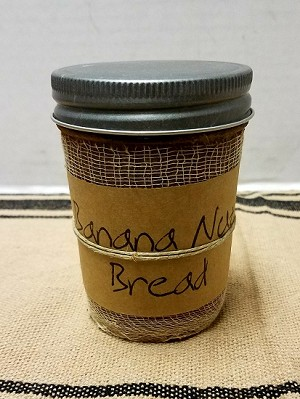 Banana Nut Bread 8 Ounce