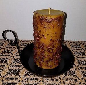 Banana Nut Bread Pillar Candle 3 x 6