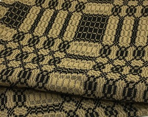 WESTBURY BLACK AND TAN THROW