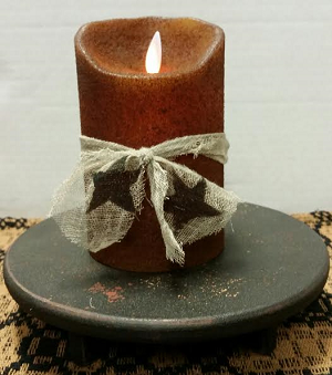 Colonial Flameless Candle Butterscotch 5""