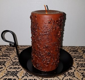 Cinnamon Stick Pillar Candle 3 x 6