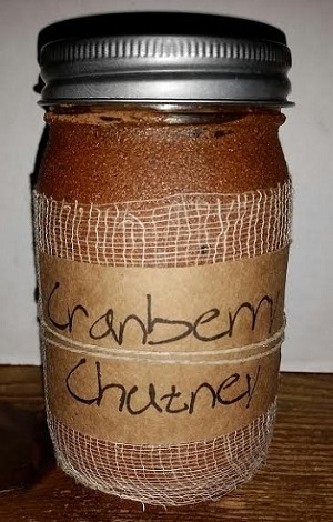 Cranberry Chutney Candle 16 oz.