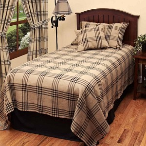 Chesterfield Check Bedcover Twin