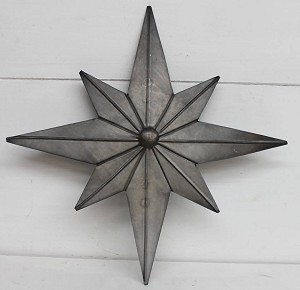 Tin Treetop Star