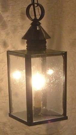 Small Tin Cloister Lantern