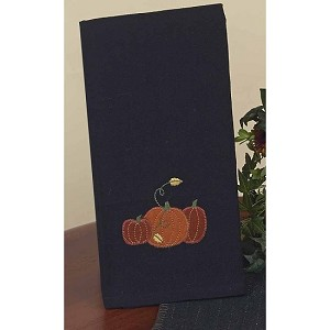 3 Fall Pumpkins Towel