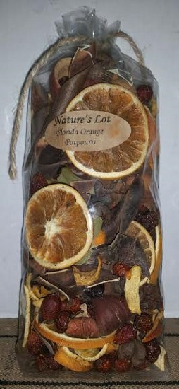 Florida Orange Potpourri