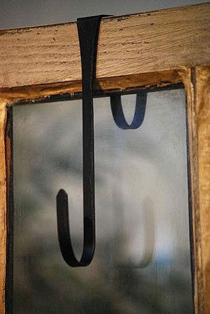 Wrought Iron Cupboard Hook - Small