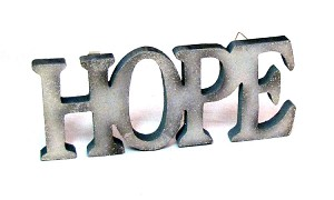 Hope Wall Plaque