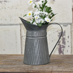 "9"" Tin Pitcher"