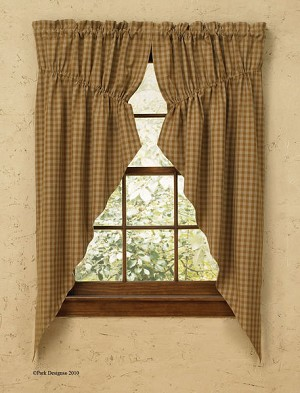 Sturbridge Curtain Collection Mustard