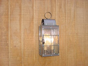 Small Wall Light with Bars
