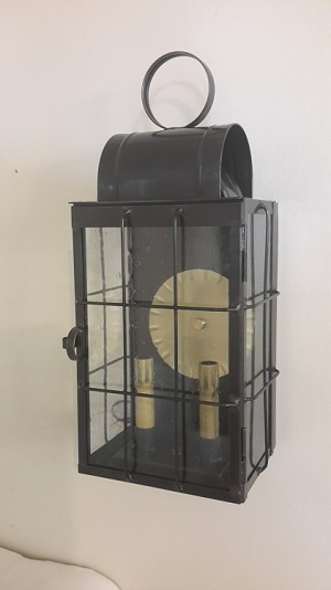 Large Wall Light with Bars