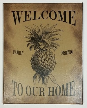 11 x 14 Welcome To Our Home