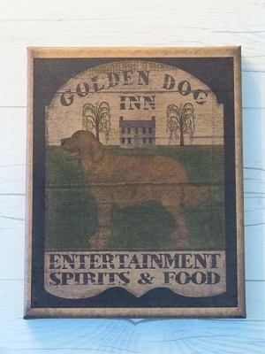 GOLDEN DOG INN 8 x 10