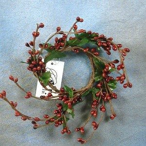 Candle Ring - Country Red