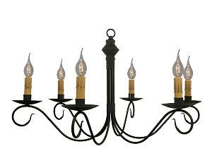 Adams Wrought Iron Chandelier