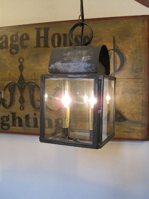 Tunbridge Tin Light