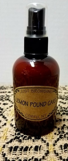 Lemon Pound Cake Room Spray