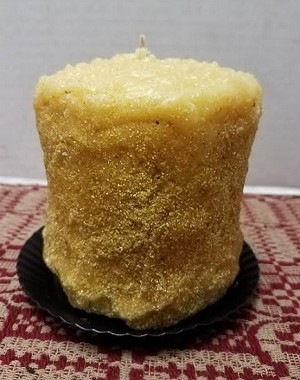 Lemon Shortbread Hearth Candle Small