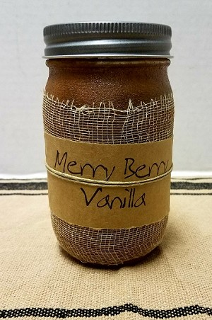Merry Berry Vanilla Candle 16 oz