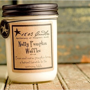 Nutty Pumpkin Waffles Soy Candle