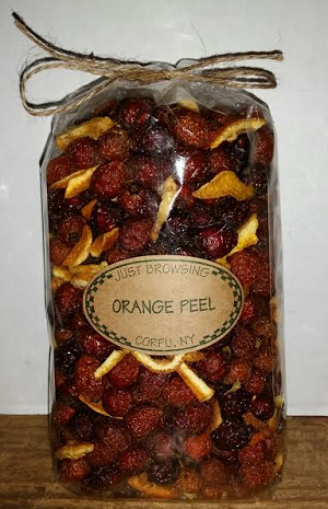 Orange Peel Potpourri