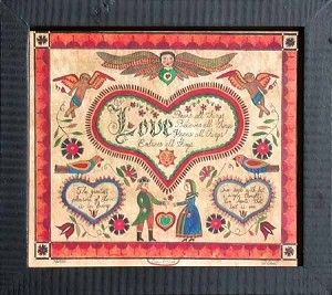 Love Fraktur by Susan Daul