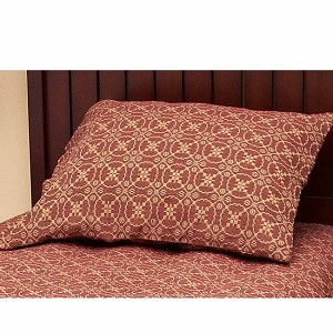 Marshfield Jacquard Pillow Sham Barn Red