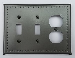 Tin Double Switch/Single Outlet Border Punch