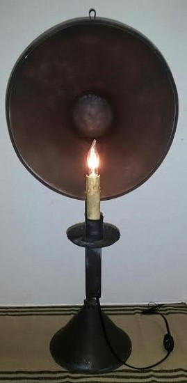 Foundary Tin Table Light