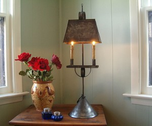 Tin Table Light