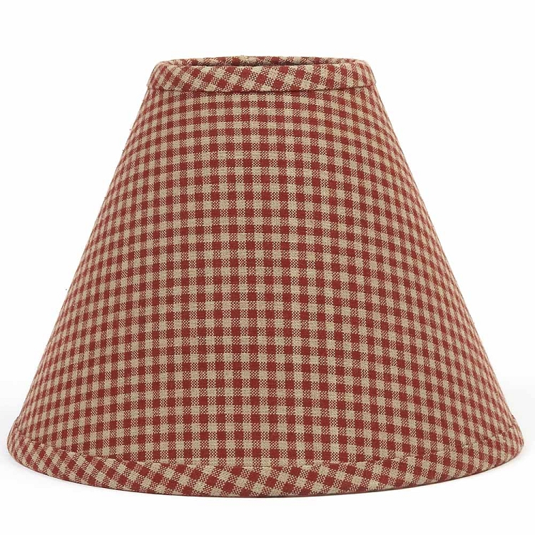 Newbury Gingham Lampshade 10
