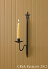SINGLE STAR SCONCE 15 5/8