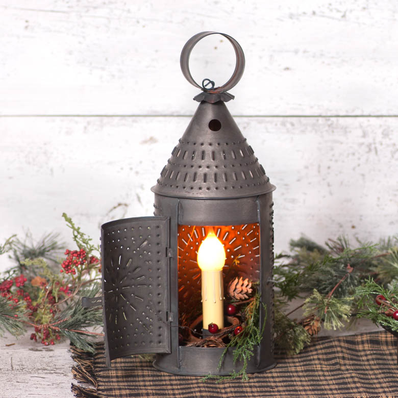 15-Inch Revere Lantern in Kettle Black