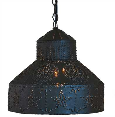 Star Punched Shade Pendant Light