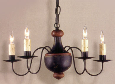 Essex Wooden Chandelier