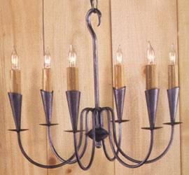 Florien Wrought Iron Chandelier
