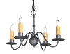 Wentworth Wrought iron Chandelier