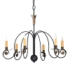 Warwick Court Wrought Iron Chandelier
