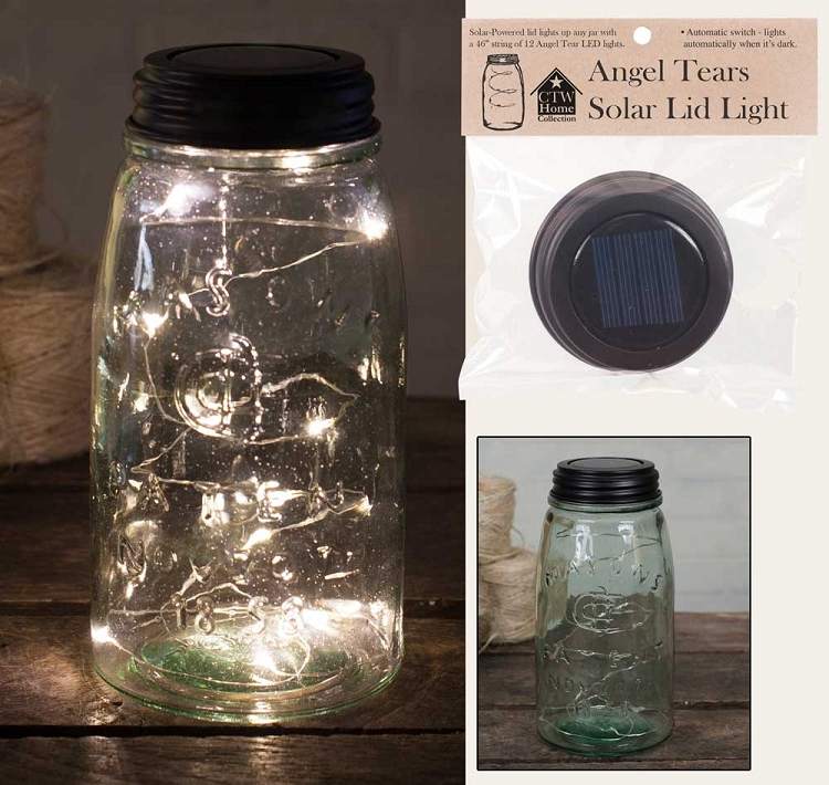 Solar Lid Light - Angel Tears