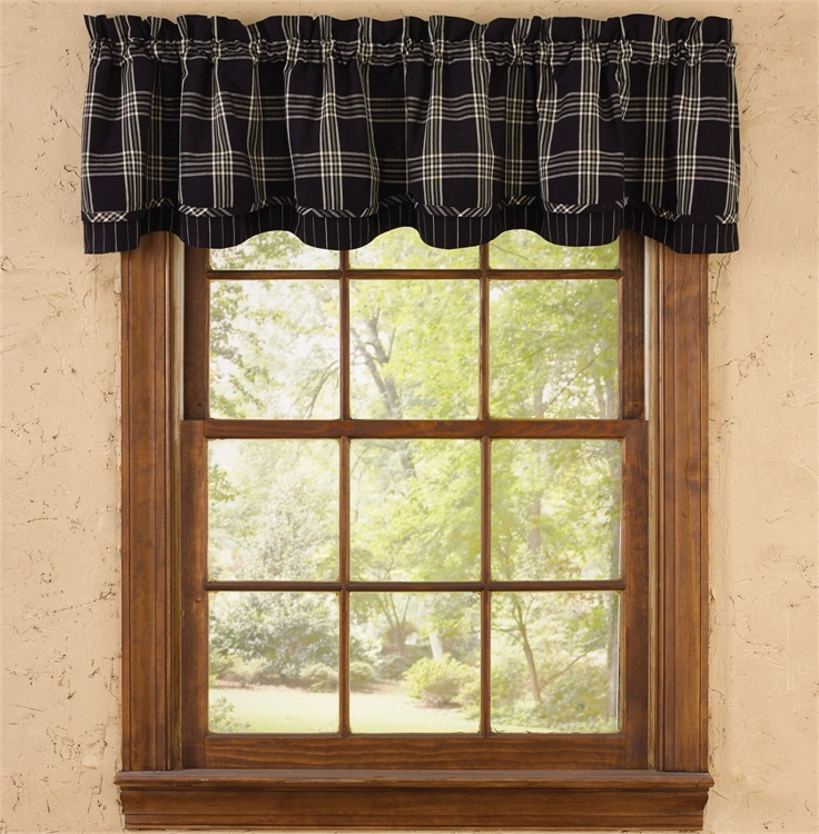 Homespun Valances