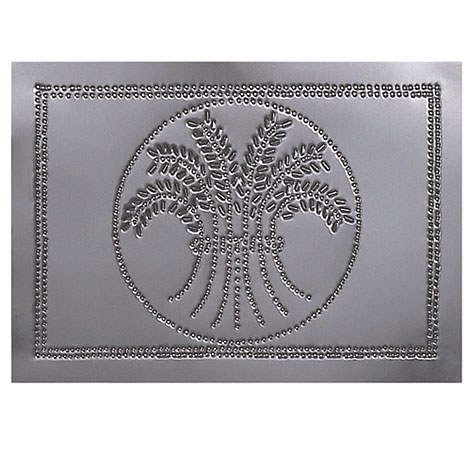 Horizontal Wheat Design Cabinet Panel Country Tin